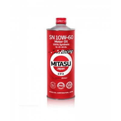 MJ-116. MITASU RACING MOTOR OIL SN 10W-60 100% Synthetic