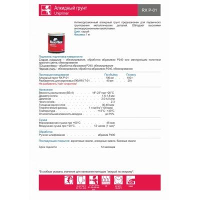 Алкидный грунт Uniprimer RX P-01
