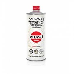 MJ-111. MITASU PLATINUM PAO SN 5W-30 100% Synthetic