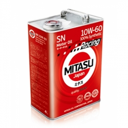 MJ-116. MITASU RACING MOTOR OIL SN 10W-60 100% Synthetic